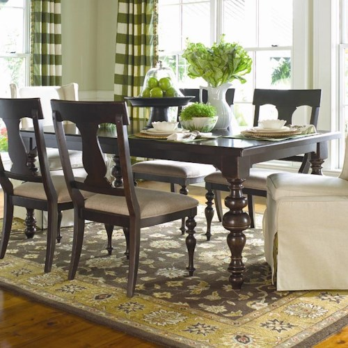 Paula Deen By Universal Home S Rectangular Leg Table