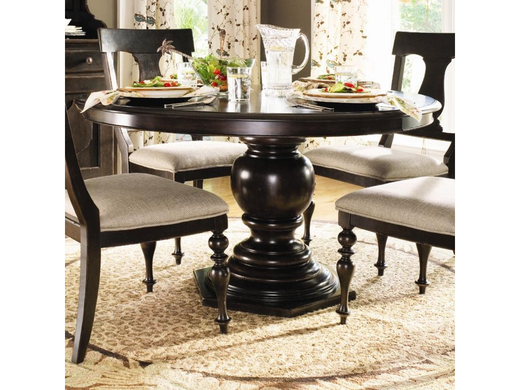 Paula Deen by Universal Home Round Pedestal Table - Baer\'s ...