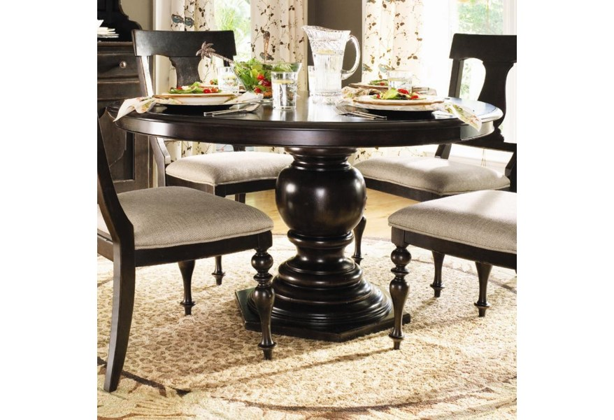 Paula Deen By Universal Home 932655 Round Pedestal Table Baer S