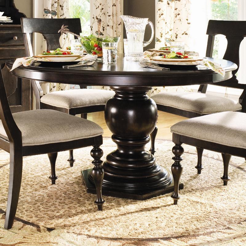 Paula Deen By Universal Paula Deen Home Round Pedestal Table   Mueller  Furniture   Dining Room Table