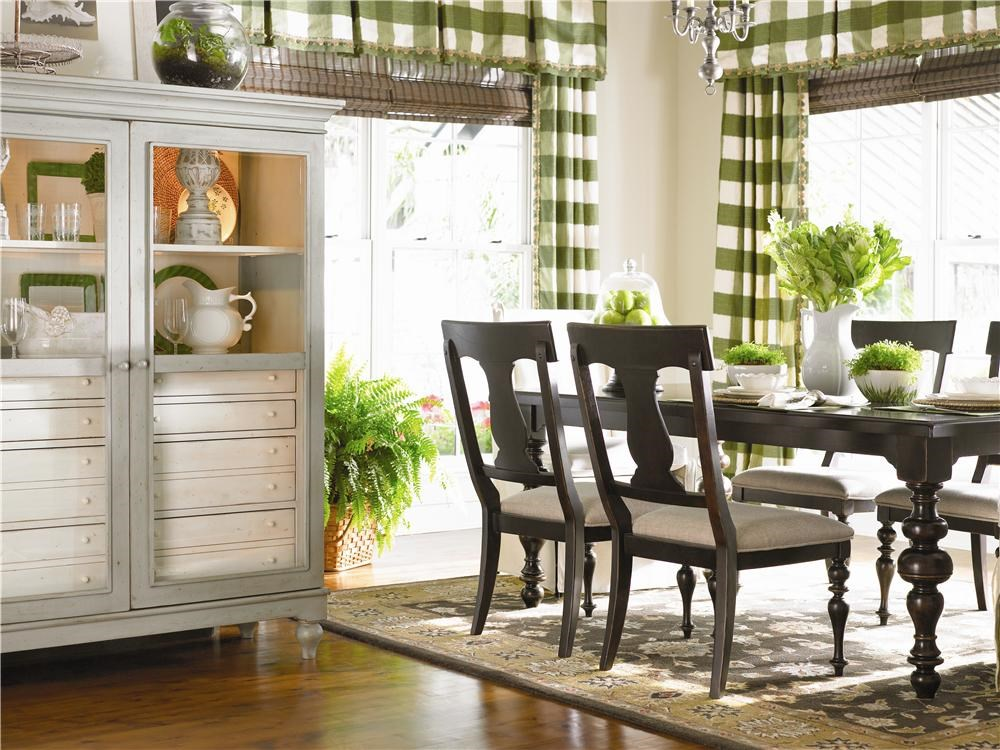 Shown in dining room setting