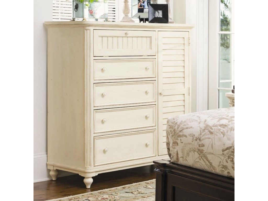 Paula Deen by Universal Pinehurst Door Chest with Louvered ...