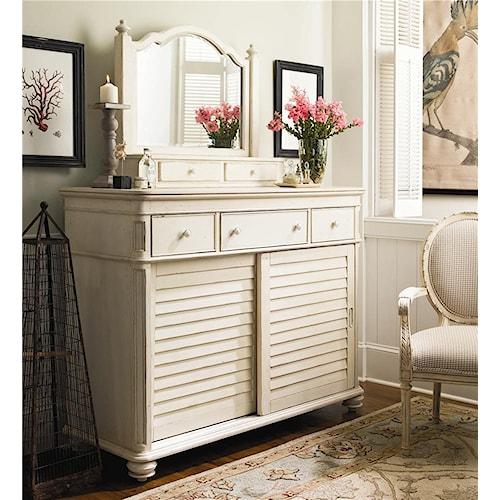 Universal Home The Lady's Dresser & Storage Mirror