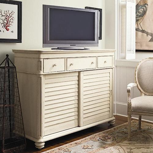 Paula Deen by Universal Paula Deen Home The Lady's Dresser with 2 Sliding Doors