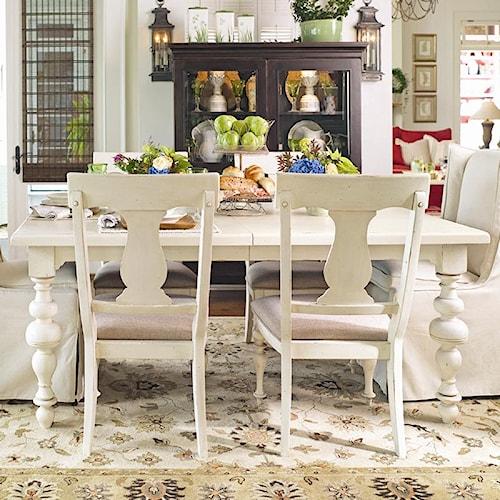 Paula Deen by Universal Paula Deen Home Paula's Rectangular Leg Table