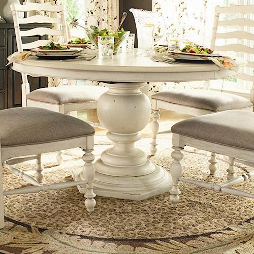 Paula Deen by Universal Paula Deen Home Round Pedestal Table