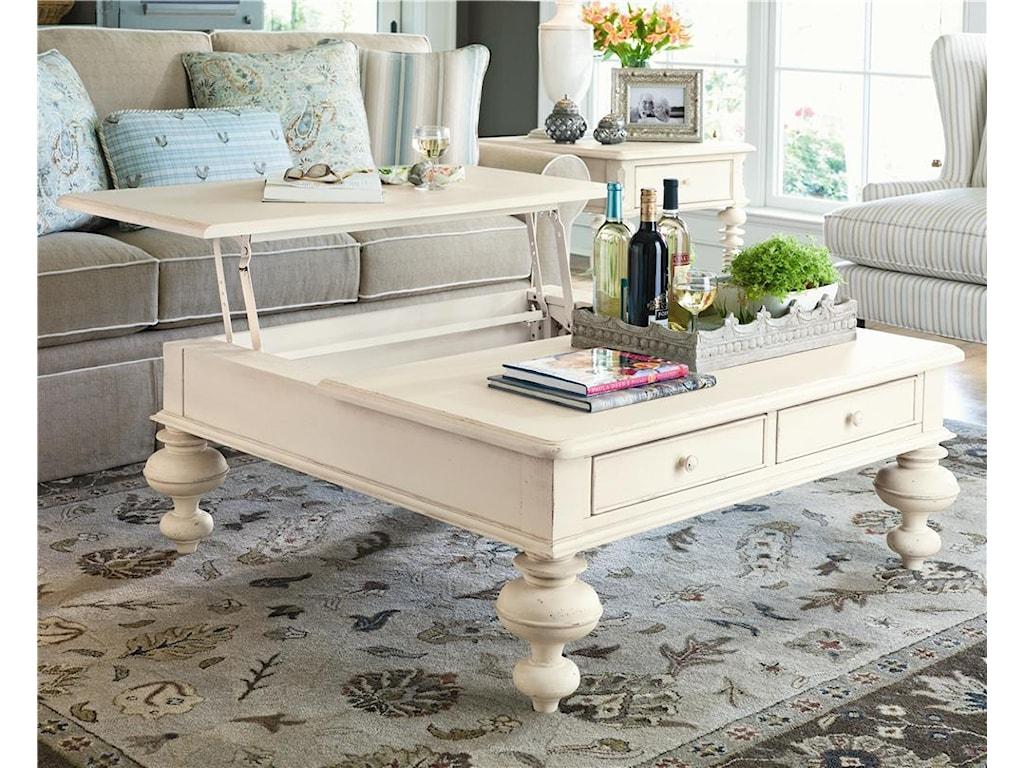 Paula Deen PinehurstPut Your Feet Up Table