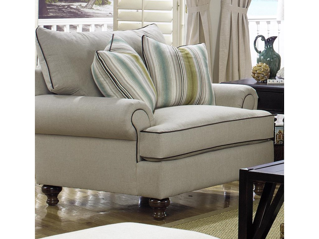 Paula Deen by Craftmaster P711700 P711720BD Traditional Upholstered ...