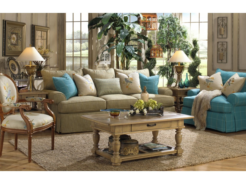 Paula Deen by Craftmaster P997000Sofa