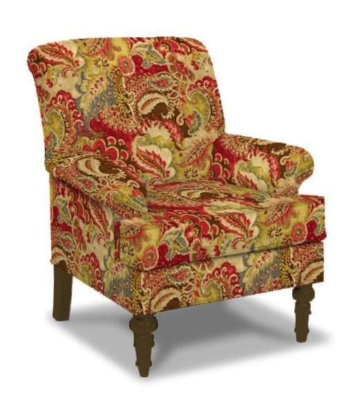 Paula Deen by Craftmaster Upholstered Chairs Transitional Chair with ...