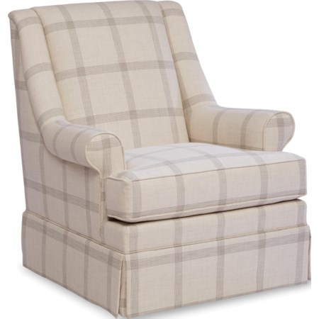Skirted Glider Chair
