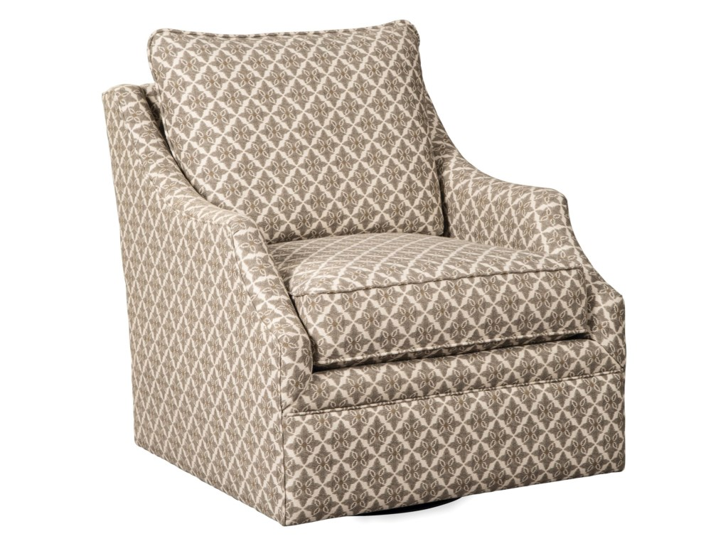 Paula Deen by Craftmaster Paula Deen Upholstered AccentsSwivel Chair
