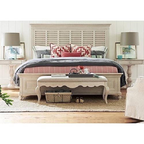 Paula Deen by Universal Bungalow Cottage Queen Bedroom Group