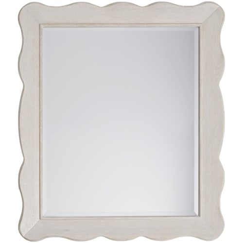 Paula Deen by Universal Bungalow Cottage Mirror with Wooden Frame