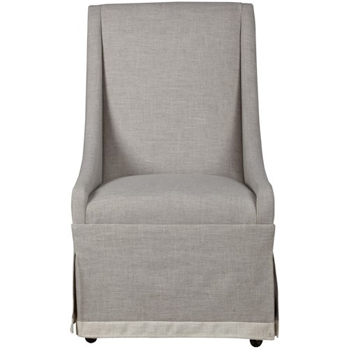 Paula Deen by Universal Bungalow Cottage Host Chair with a Skirt