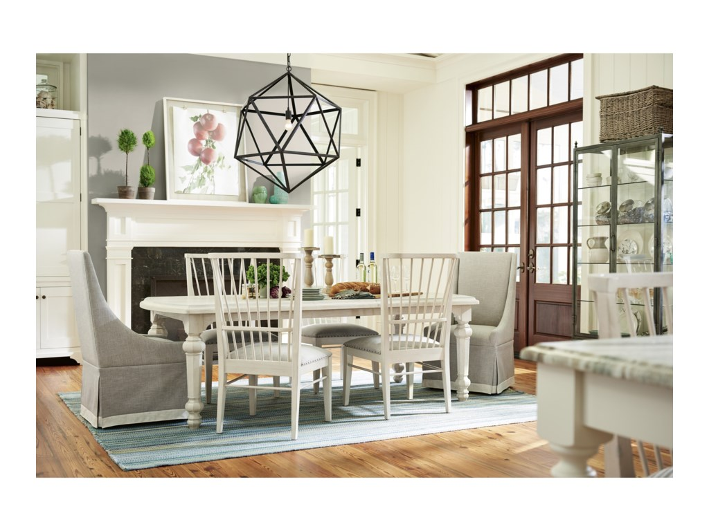 Paula Deen by Universal Bungalow 795653 Sunday Supper Table with Two ...