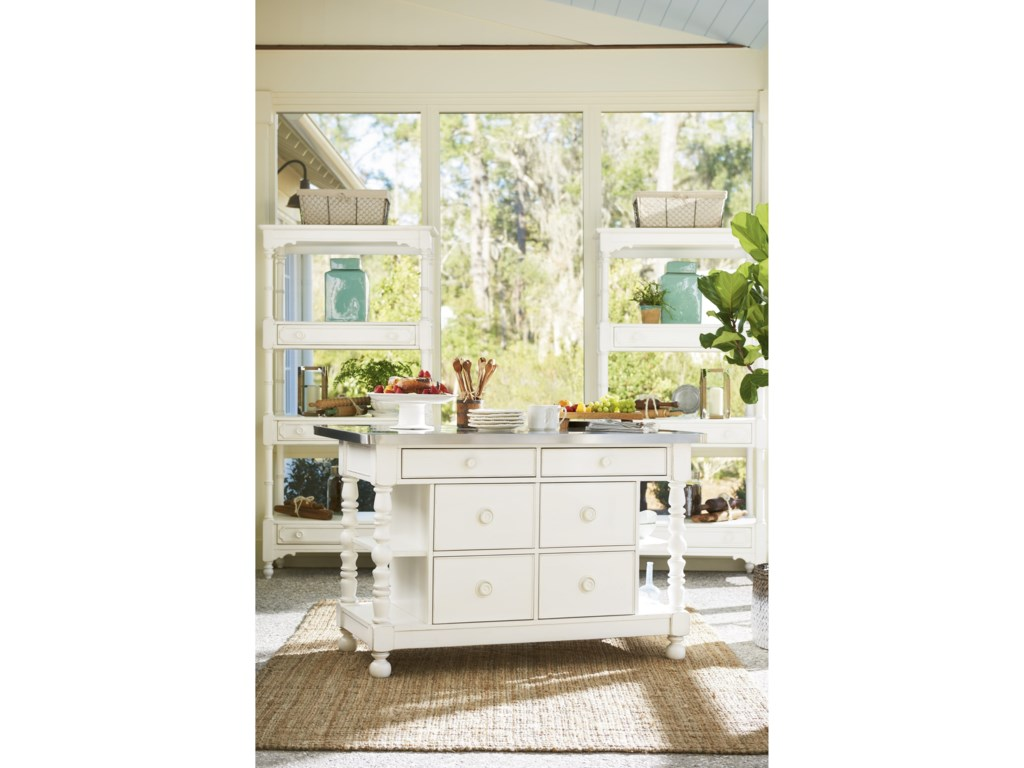Universal CottageKitchen Island