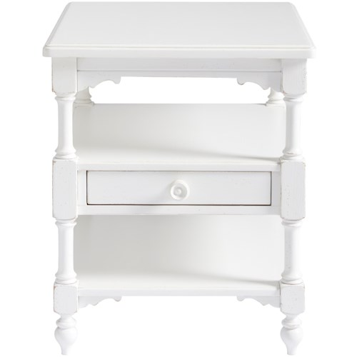 Paula Deen by Universal Bungalow Bungalow Cottage End Table with a Drawer