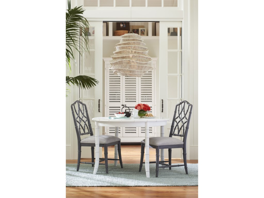 Paula Deen Bluffton Keeping Room Upholstered Chair with Intricate ...