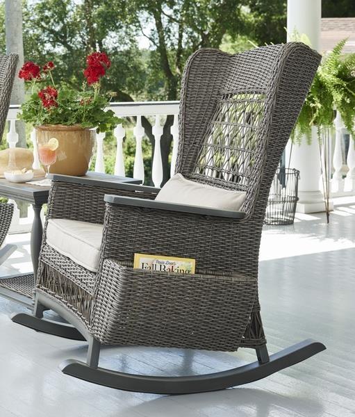 Paula Deen Darling Outdoor Rocking Chair   Morris Home   Outdoor Chairs