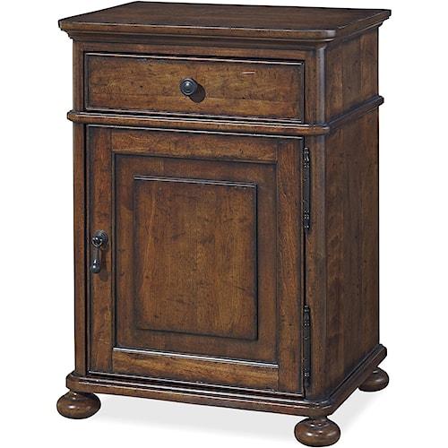 Paula Deen by Universal Dogwood Door Nightstand with Adjustable Shelf