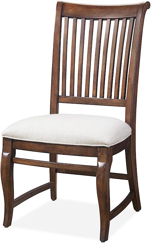 Paula Deen by Universal Dogwood Dogwood Side Chair with Slat Back