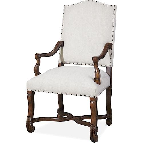 Paula Deen by Universal Dogwood Paula & Michael's Host & Hostess Chair