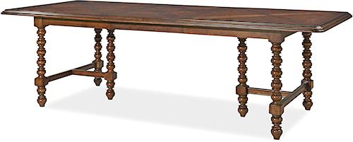 Paula Deen by Universal Dogwood Dogwood Double Pedestal Dinner Table
