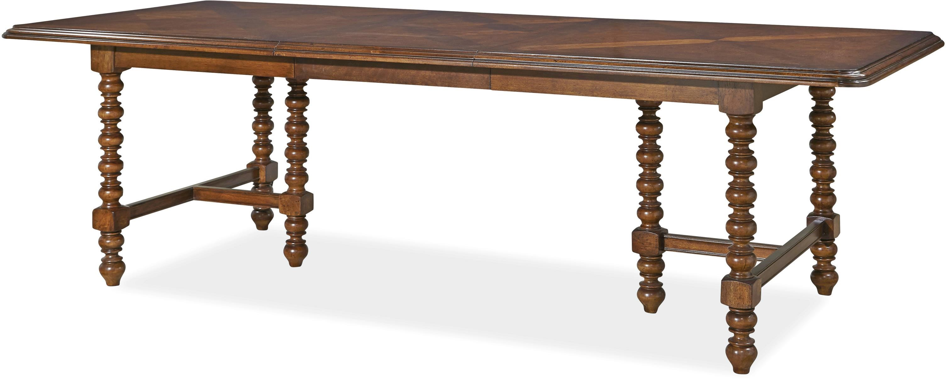 Paula Deen Darling Darling Double Pedestal Dining Table   Morris Home    Dining Room Table