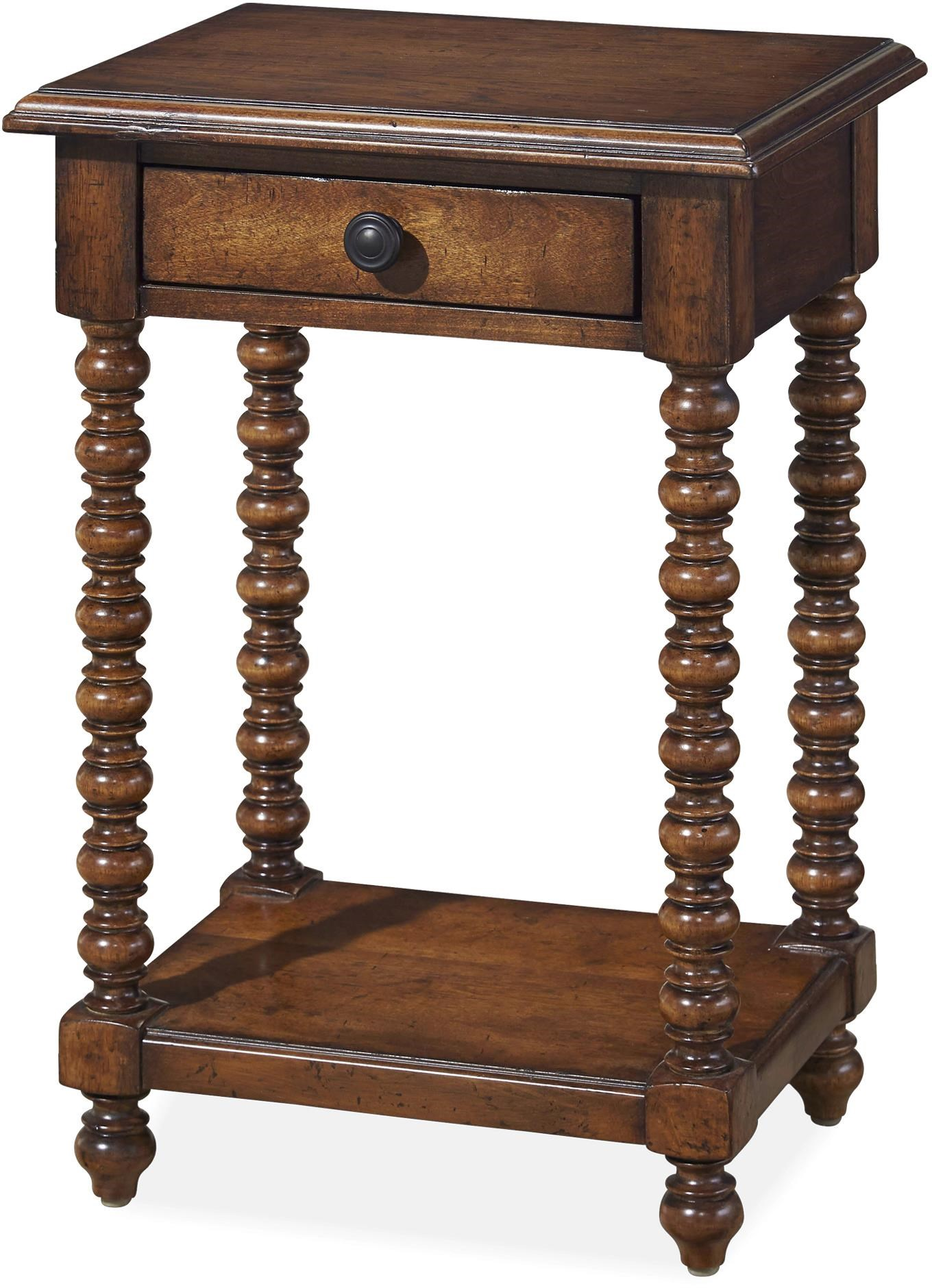 Paula Deen By Universal Dogwood Side Table With Drawer