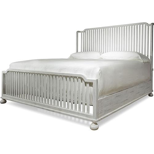 Paula Deen by Universal Dogwood The Tybee Island Queen Bed with Slat Headboard