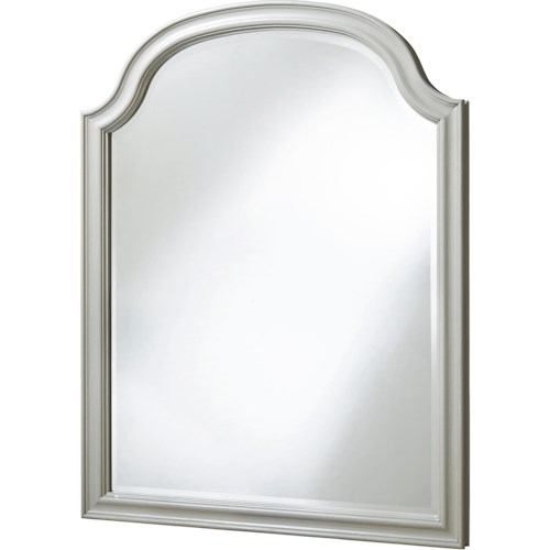 Paula Deen by Universal Dogwood Mirror with Arched Top