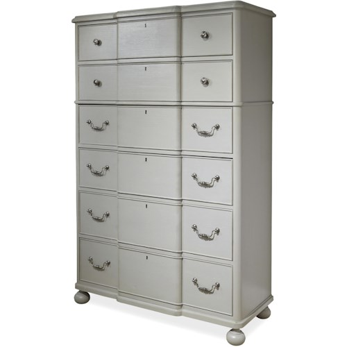 Paula Deen by Universal Dogwood Drawer Chest with Bun Feet