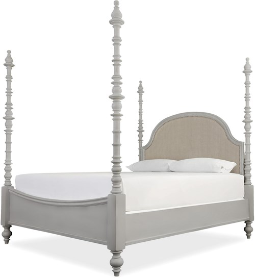 Paula Deen by Universal Dogwood The Dogwood King Bed with Adjustable Posts