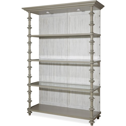 Paula Deen by Universal Dogwood The Debonaire Etagere with 4 Shelves