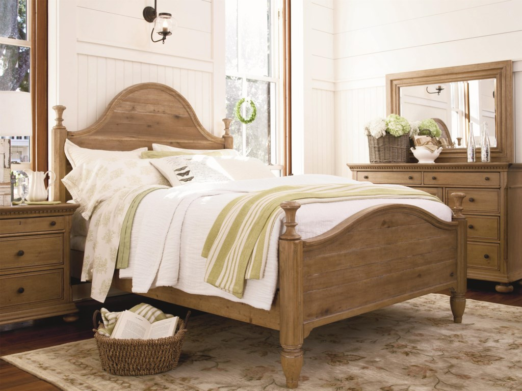 Shown with Down Home Bed, Nightstand, and Down Home Door Dresser
