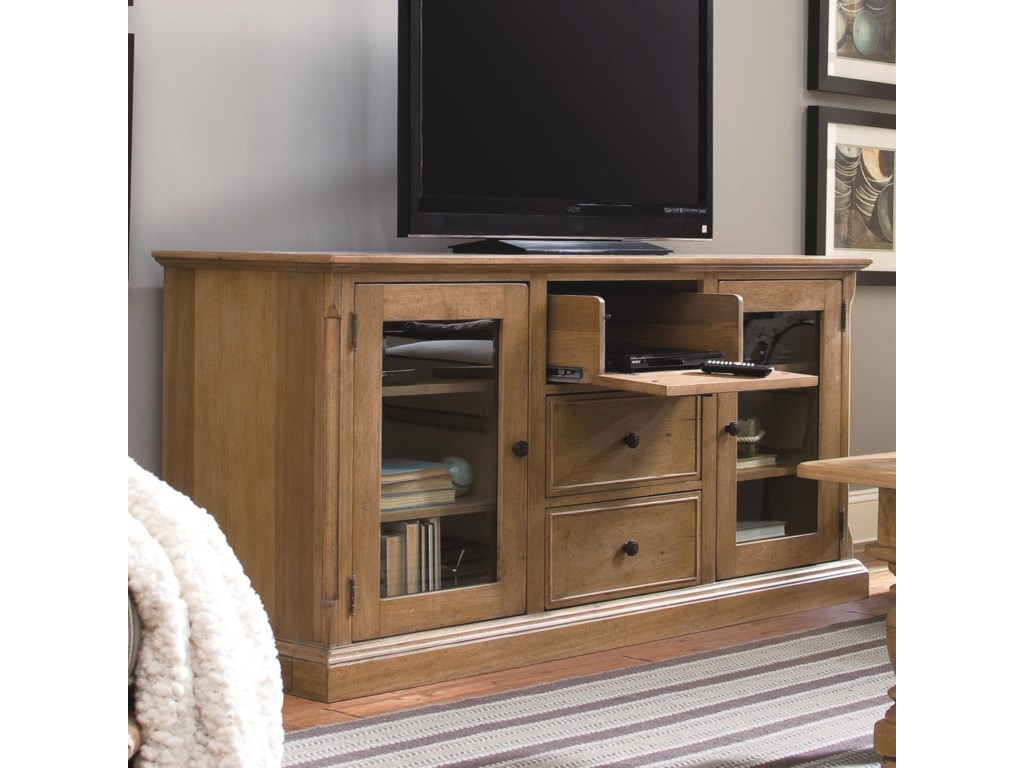 Shown with Top Drawer Dropped and Pulled-Out
