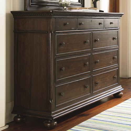 Paula Deen By Universal Down Home Aunt Peggy S Dresser With 8 Drawers