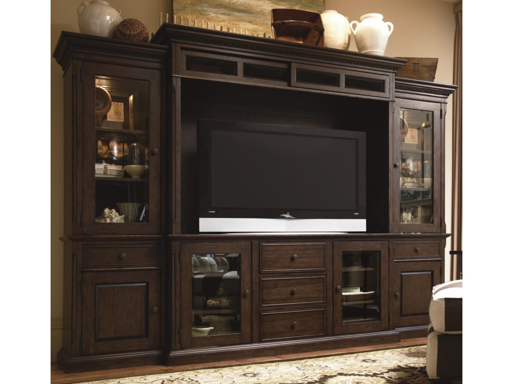 Paula Deen by Universal Down HomeEntertainment Console Wall Unit
