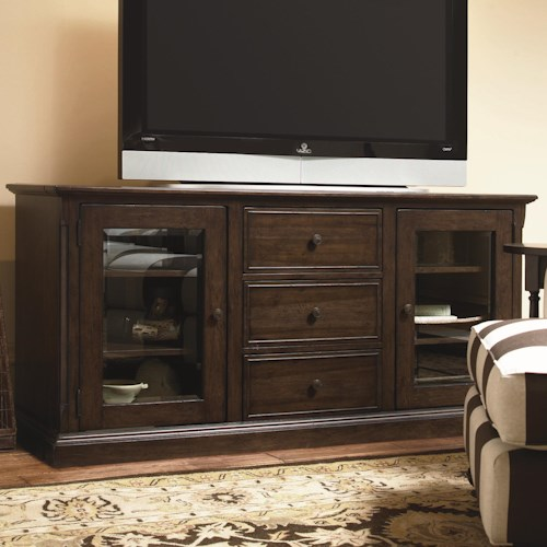 Paula Deen by Universal Down Home 70-inch Entertainment Console with 3 Drawers
