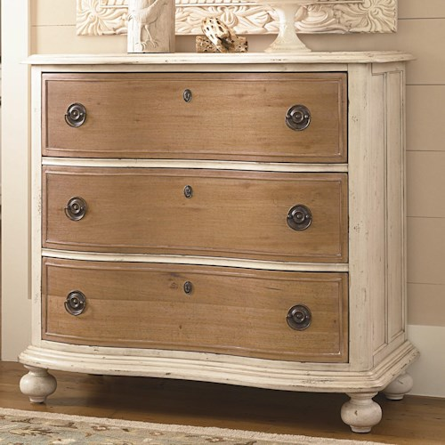 Paula Deen by Universal Down Home Paula's Favorite Chest with 3 Drawers