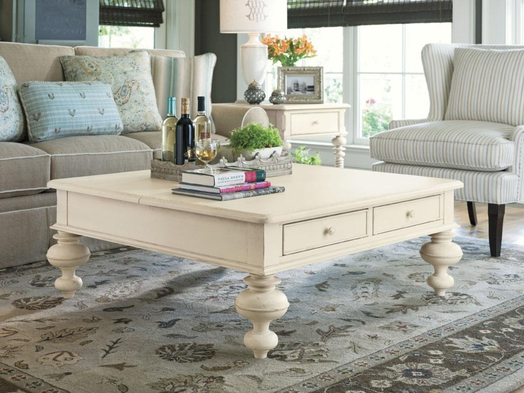 Paula Deen PinehurstRectangular End Table