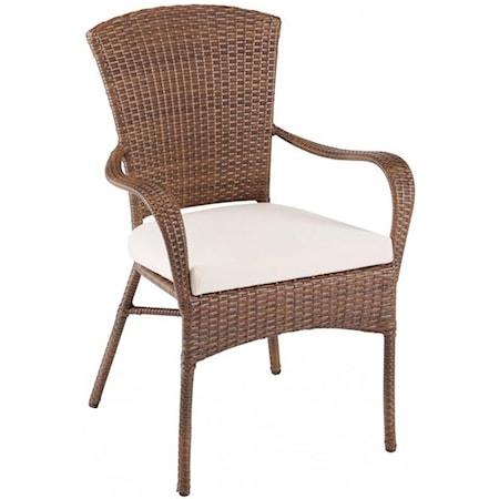 Stackable Woven Armchair