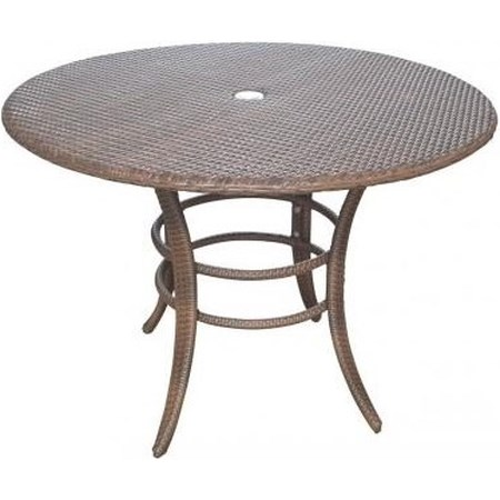 Woven Outdoor Dining Table