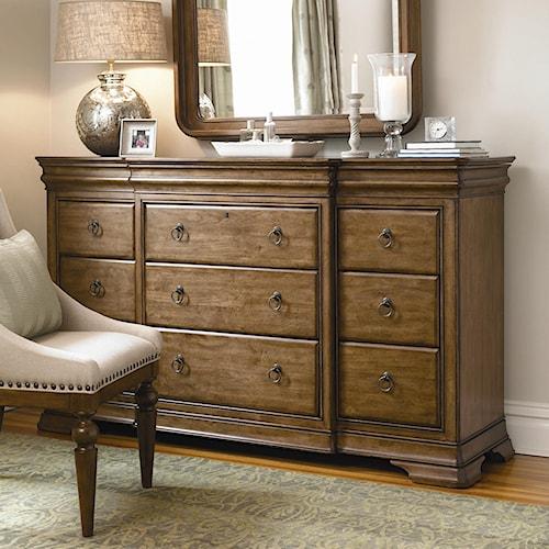 Universal New Lou 12 Drawer Dresser