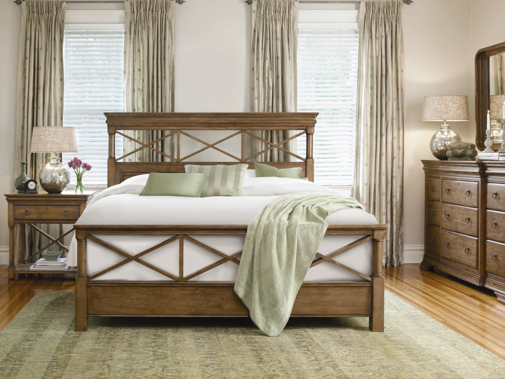 Shown with Bedside Table, X Factor Bed, and Dresser