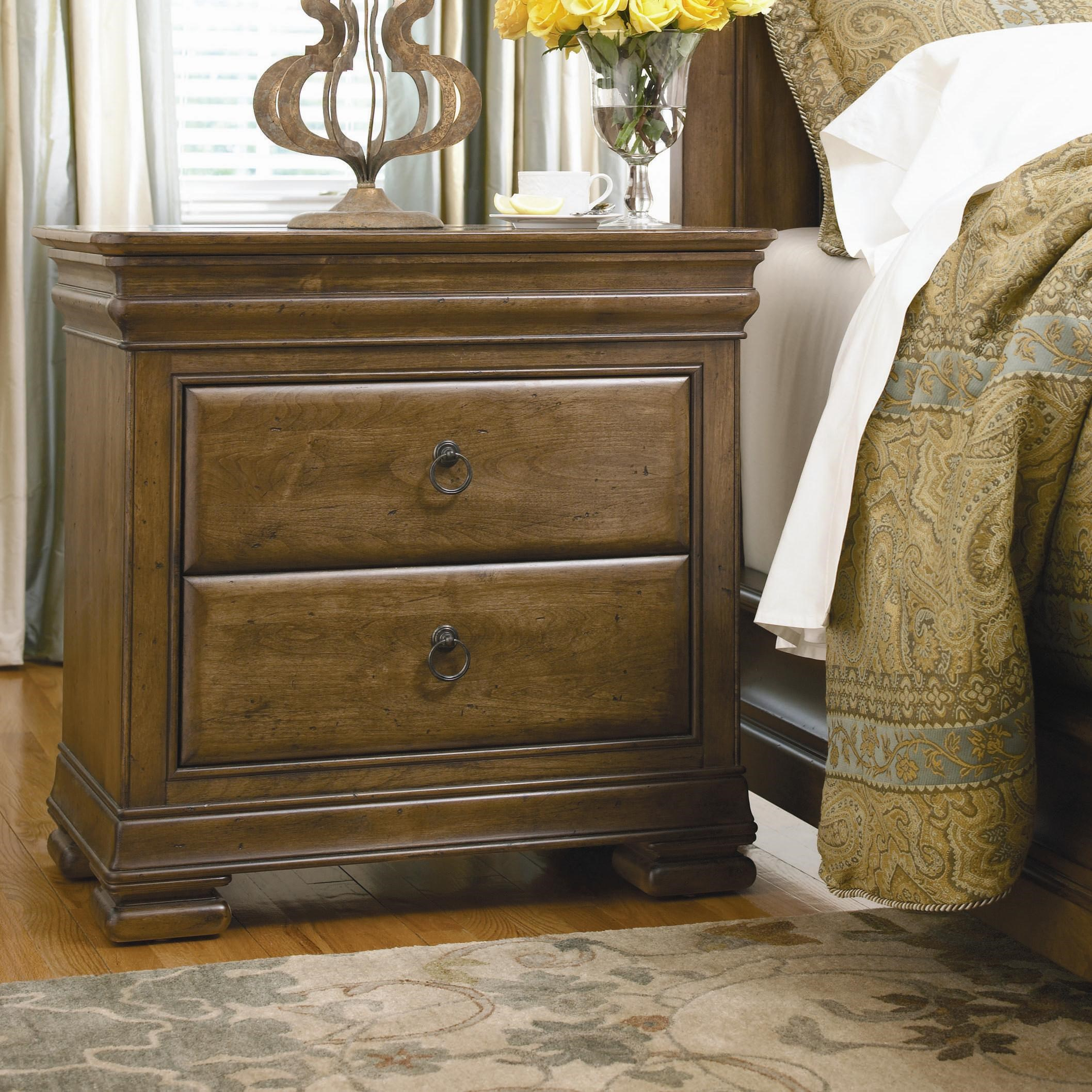 Beau Universal New Lou 3 Drawer Night Stand