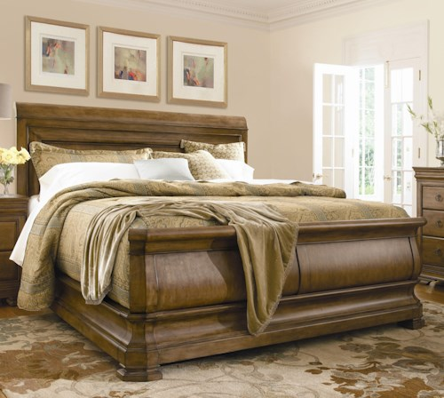 Universal New Lou King Louie P's Sleigh Bed