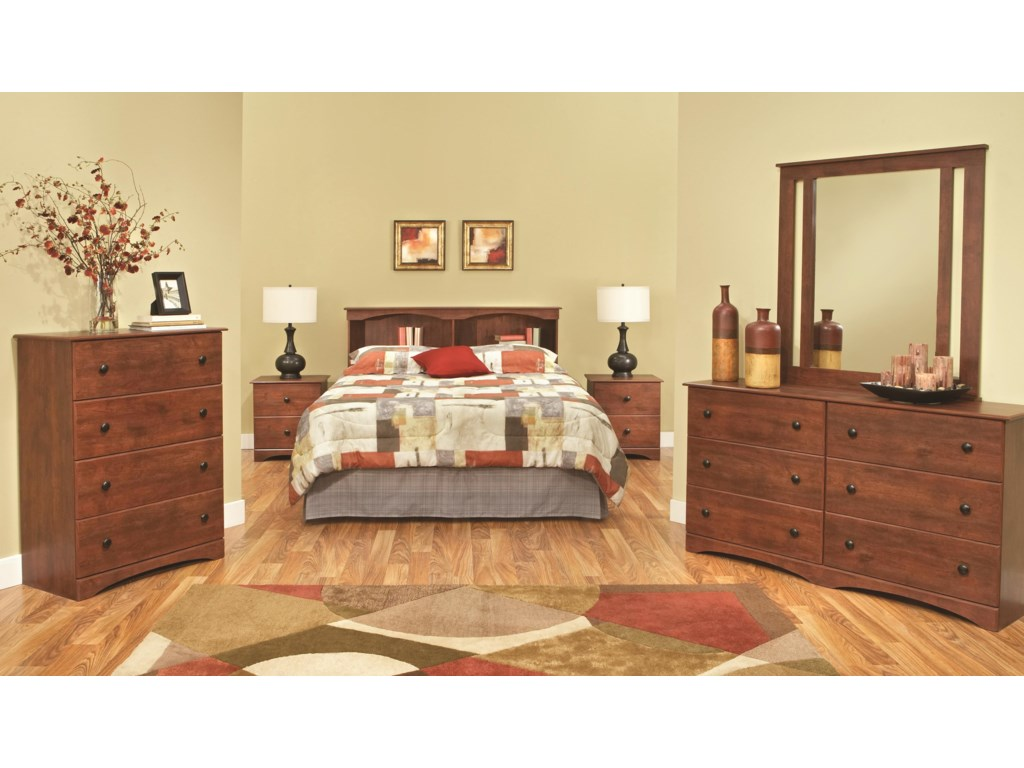 Perdue 11000 SeriesFull/Queen Bookcase Headboard