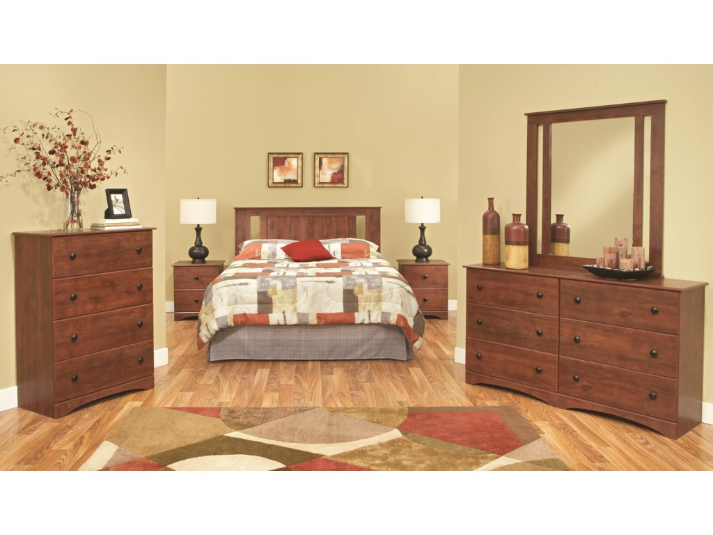 Perdue 11000 SeriesFull/Queen Panel Headboard